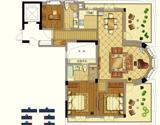 九衡公寓c5-130平米户型