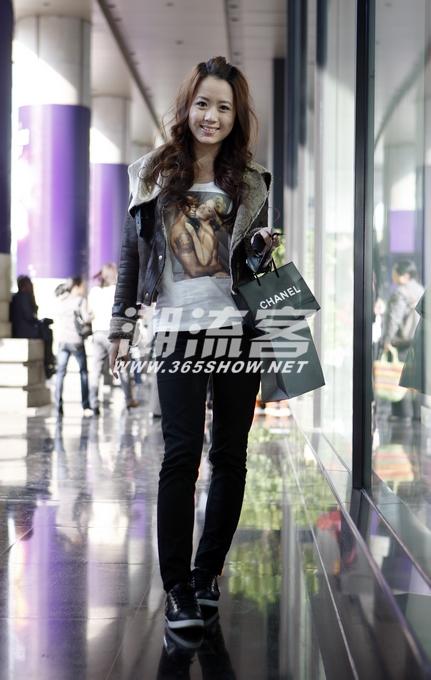 11月8日杭州原创街拍 秋色宜人街拍杭州路人新装 -街拍杭州路人新装图片