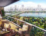 景观阳台三重庭院效果