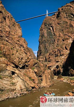 世界之最/9.美国最高的桥:科罗拉多,皇家峡谷大桥