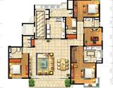 C3四房两厅257平米