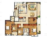 C4五房两厅298平米