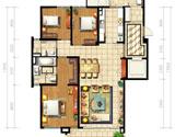 B1型三房两厅178平米
