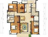C1四房两厅214平米