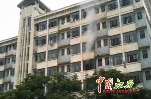 南昌工程学院女生宿舍16日爆炸起火 图