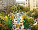 中央花园景观区效果图