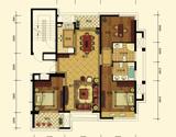 B1三房二厅二卫二阳台125平