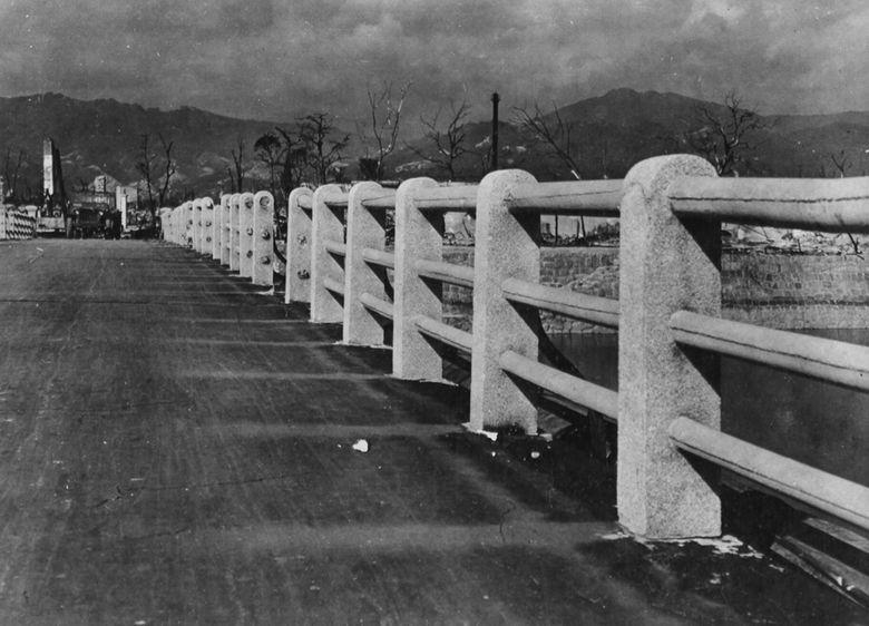日本广岛核爆炸旧照 日本广岛|美国海军|日本原
