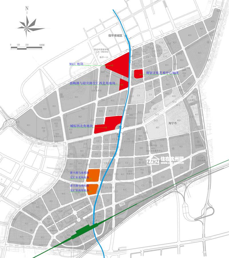 临平新城城市规划图图片