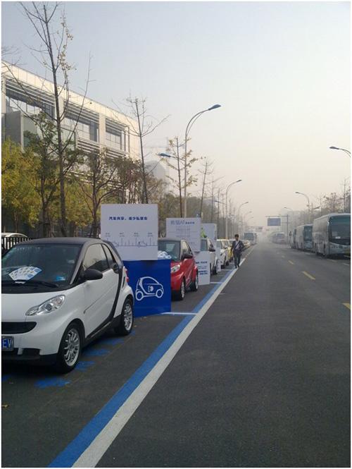 租自行车一样租汽车 杭州汽车共享初试水高清图片