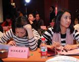 浙江城建房产 章丽娅(左)与金成房产 汪景姣(右)