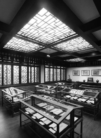 不是会所 这是浙大图书馆古籍阅览室