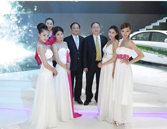 吉利天使再战2012北京车展