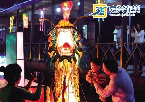 2012嘉兴湘家荡五月灯会