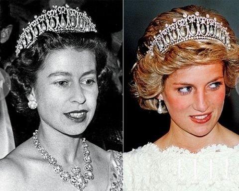 这顶珍珠皇冠戴安娜王妃也曾佩戴过-揭秘伊丽莎白女王的各式皇冠