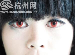 中学生流行戴超艳美瞳对作文百害无一益-美瞳太阳眼睛初中我爱作文图片
