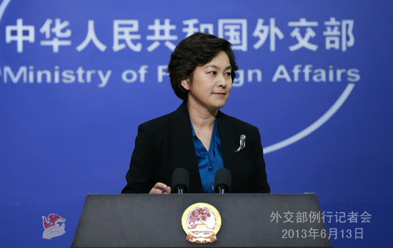 中国外交部回应美国_