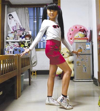 下沙女孩将上央视少儿春晚学走秀只为培养自科学小学下册反思图片