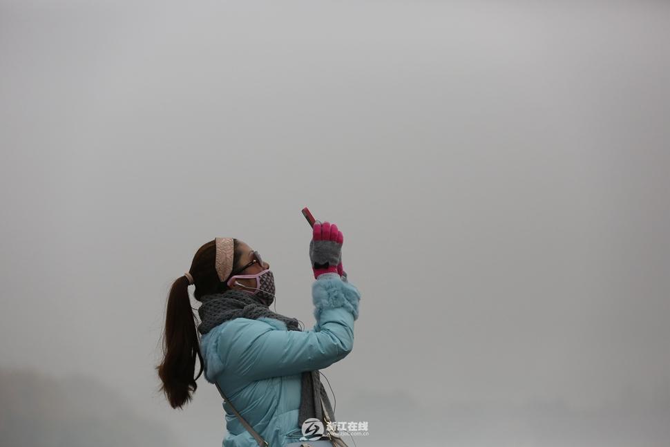 魏志阳篮球:雾霾中的浙江-互联星空西湖作品频室外新闻鞋v篮球图片