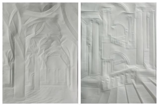 浮雕 信纸 艺术家/环球网综合报道据英国《每日邮报》报道,近日,德国一名艺术家...