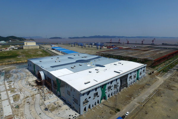 舟山:浙江自贸区国际进口商品城雏形初现