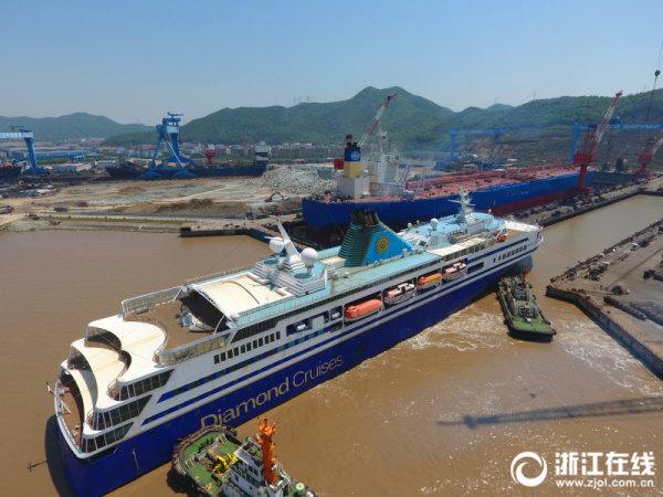 舟山六横打造国际邮轮修造基地