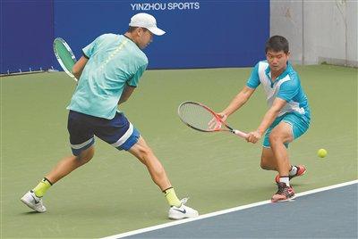 鄞州国际网球赛正赛开始
