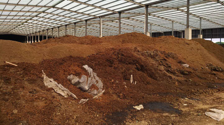 整改期后有机肥厂臭气依旧 环保部门督促企业再次整改