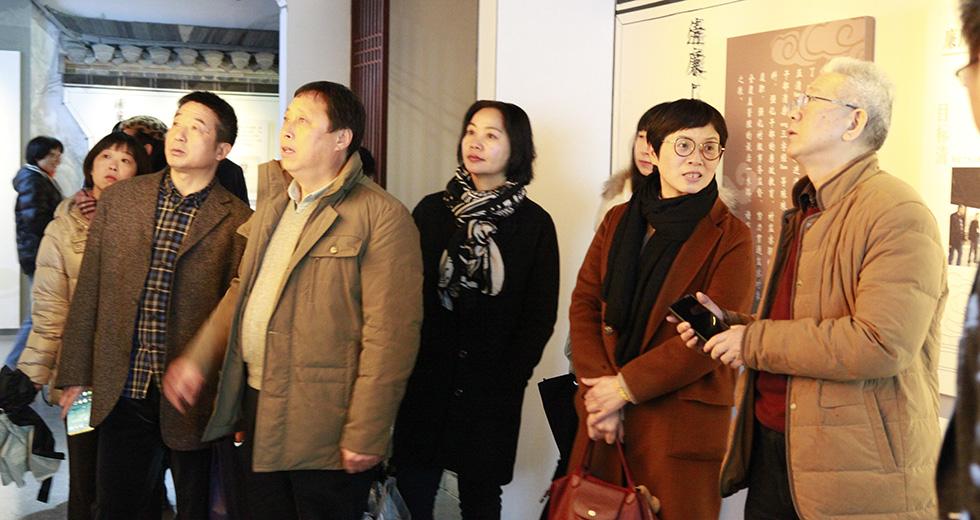 调研组在临安上田村开展实地调研