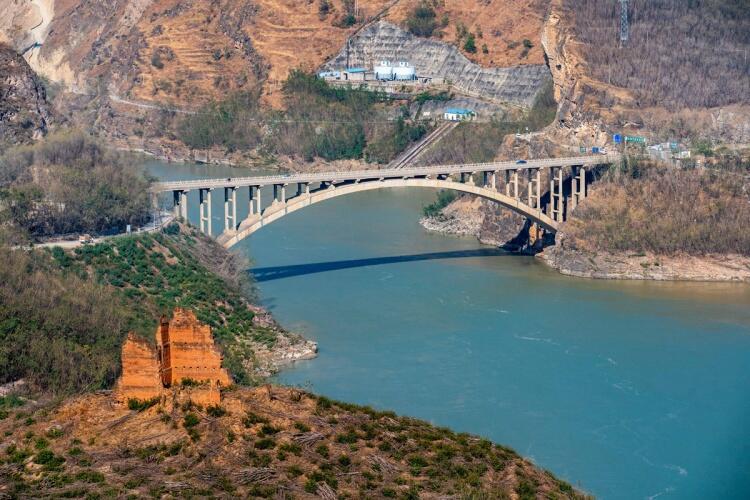 世界在建最大水电工程白鹤滩水电站正式开始蓄水