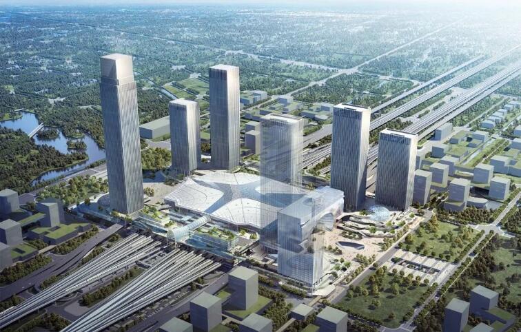 杭州西站枢纽最新进展!计划杭州亚运会前投入使用