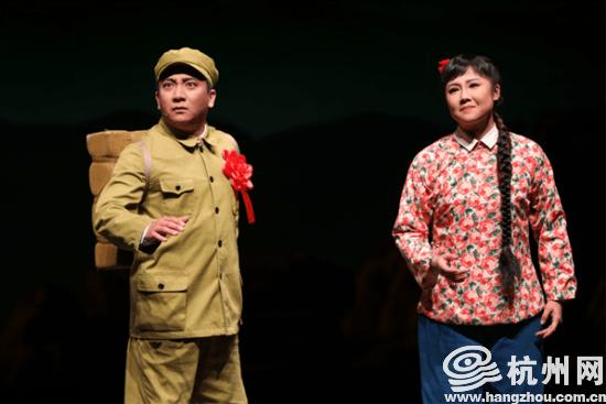 胸怀千秋伟业 恰是百年风华丨杭州运河大剧院试运营 首场演出为大型京剧《战士》