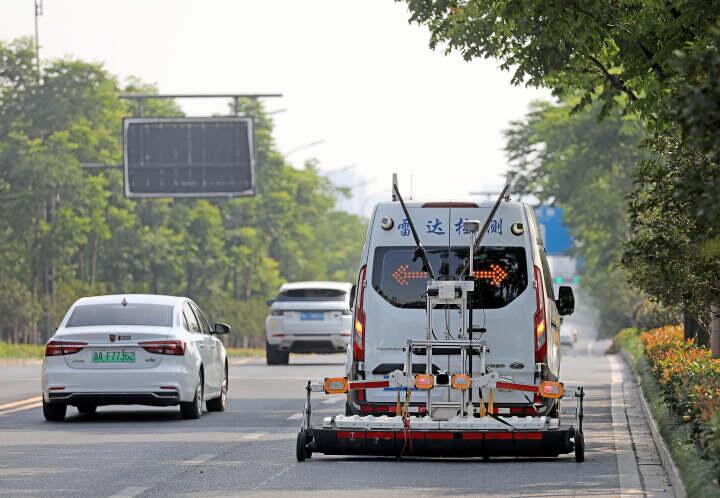 """杭州:城市道路 """"B超""""体检"""