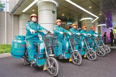 液化气供应站摇身变公园 杭州主城区10处供应站完成提升改造
