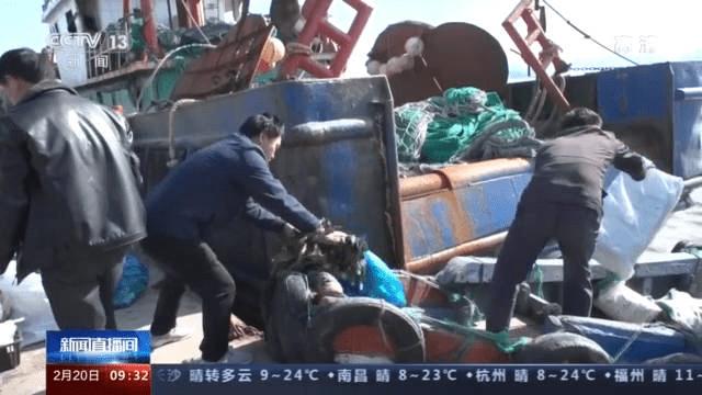 浙江象山千艘渔船扬帆出海 撒下今春第一网