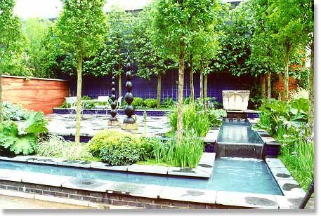 切尔西园艺展部分花园及设计