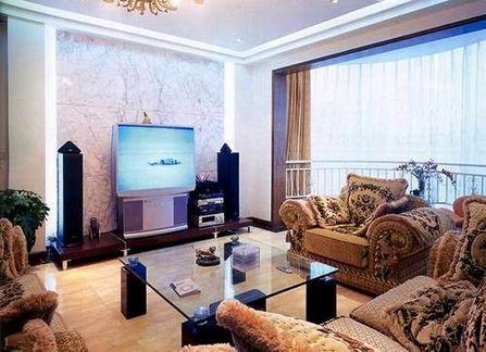全新欧洲风格敞开式客厅 装修日记 最新家庭室内装修效果
