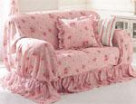 粉红家纺营造温馨世界