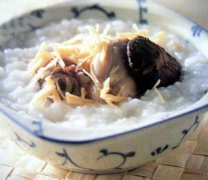 竹菇止呕粥的做法