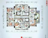 6房3厅5卫户型 偶数层