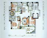 4房2厅2卫户型 奇数层