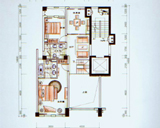5房3厅3卫户型 复式