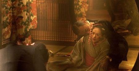 章子怡在《艺伎回忆录》中饰演的小百合-章子怡与13个男人的激情瞬间图片