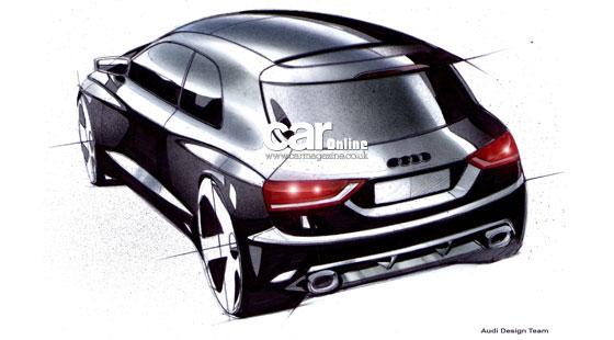 奥迪推a1对抗宝马mini 原型车今年将亮相高清图片