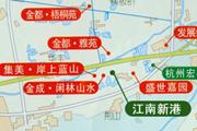 江南新港周边楼盘图