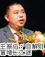王振滔:自解财富增长之谜