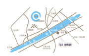 银泰・海威国际位置图