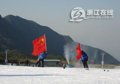 这个冬日到 江南天池 滑雪去图片
