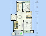 左邻右舍7号楼<br>2室2厅1卫 85平米