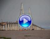 杭州湾大桥北航道桥合龙